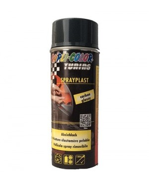 SPRAY PLAST (PLASTI DIP) NERO SEMI-LUCIDO ML.400