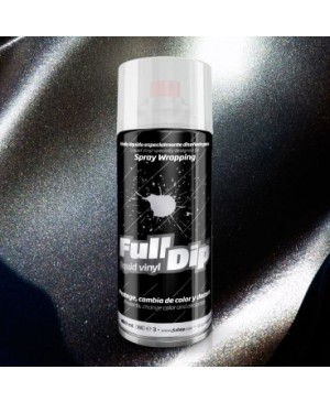 FULL DIP SPRAY WRAP PLASTI DIP 400 ML NERO METALLIZZATO