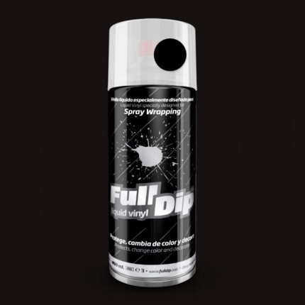 FULL DIP SPRAY WRAP PLASTI DIP 400 ML NERO OPACO