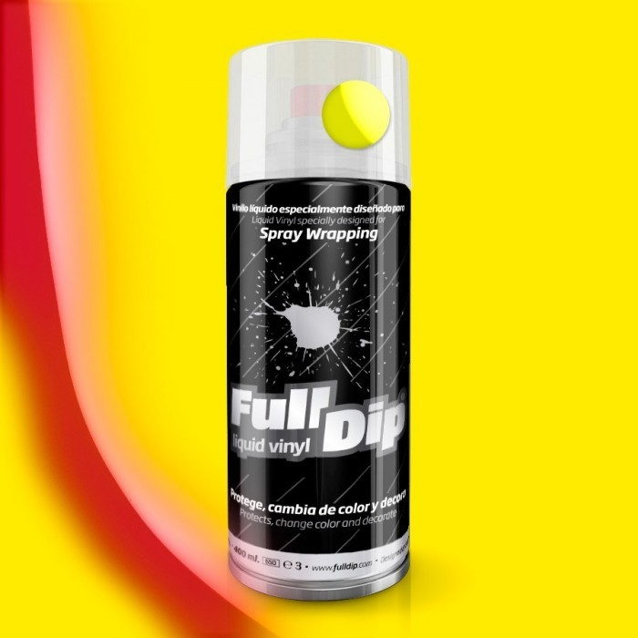 FULL DIP SPRAY WRAP PLASTI DIP 400 ML GIALLO FLUO