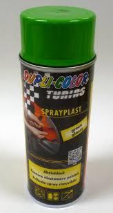 SPRAY PLAST (PLASTI DIP) VERDE SEMI-LUCIDO  ML.400