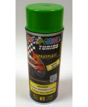 SPRAY PLAST (PLASTI DIP) VERDE SEMI-LUCIDO  ML.400