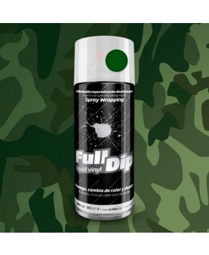 FULL DIP SPRAY WRAP PLASTI DIP 400 ML VERDE MILITARE OPACO